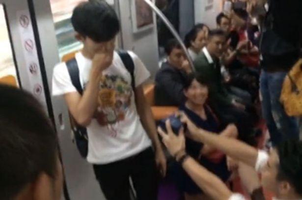 teen on bus fucked Asian