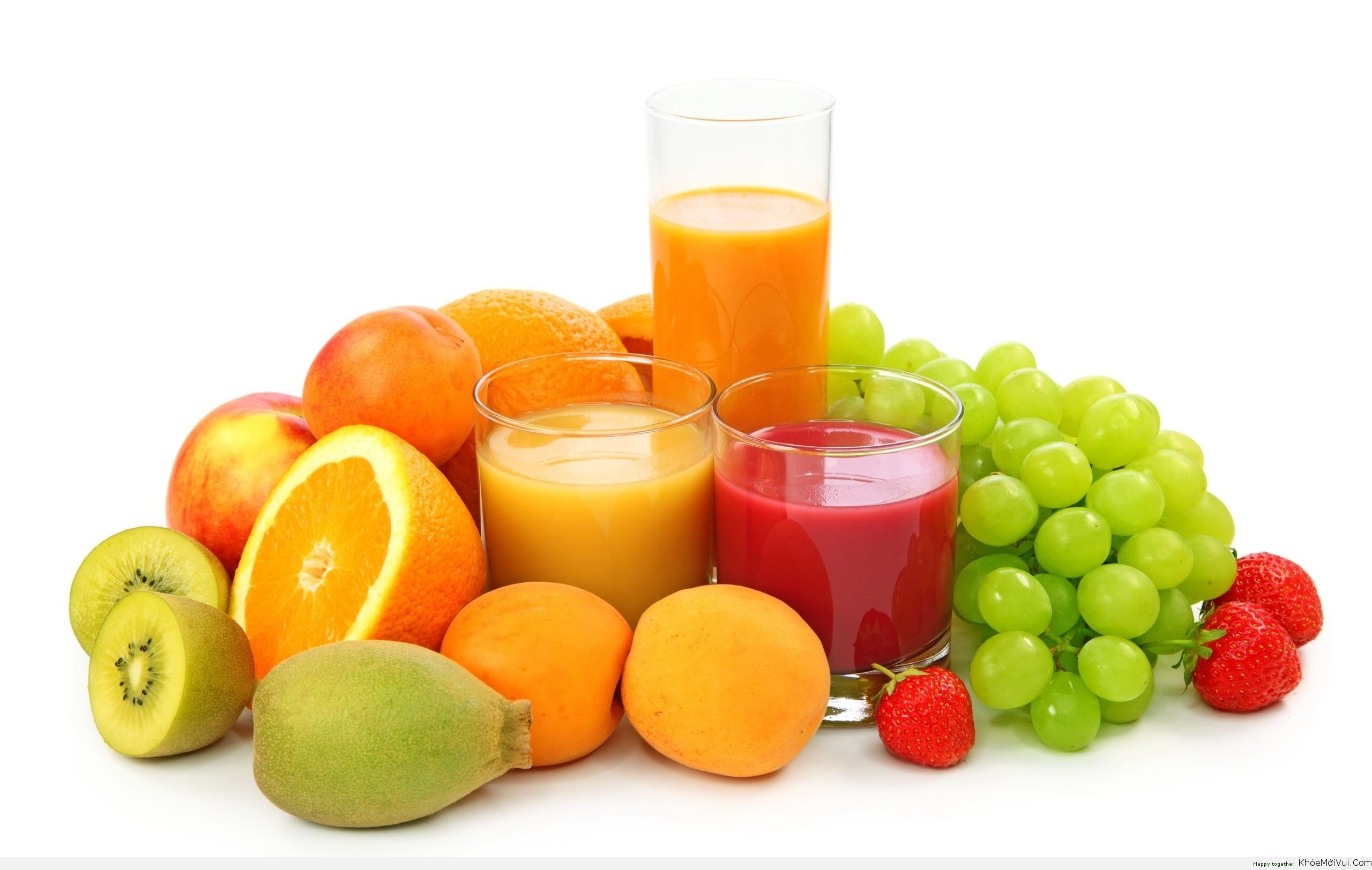 Kết quả hình ảnh cho nước ép hoa quả