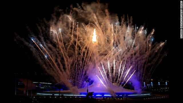 Muôn màu lễ khai mạc Thế vận hội Sochi 2014