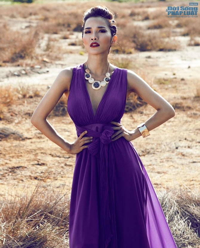 Bạn gái Ưng Hoàng Phúc hóa nữ thần Hy Lạp
