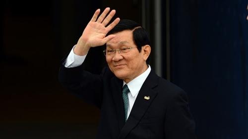 Chủ tịch nước Trương Tấn Sang thăm CHLB Đức