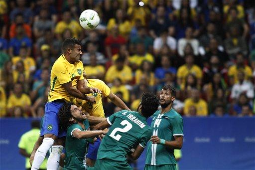 Neymar và U23 Brazil gây thất vọng tràn trề ở Olympic 2016