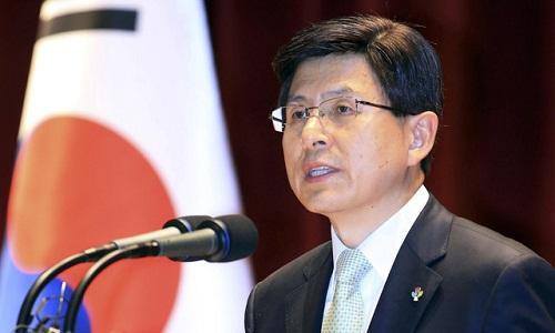 Kết quả hình ảnh cho Thủ tướng Hàn Quốc Hwang Kyo-ahn