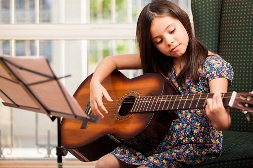 Kết quả hình ảnh cho học đàn guitar