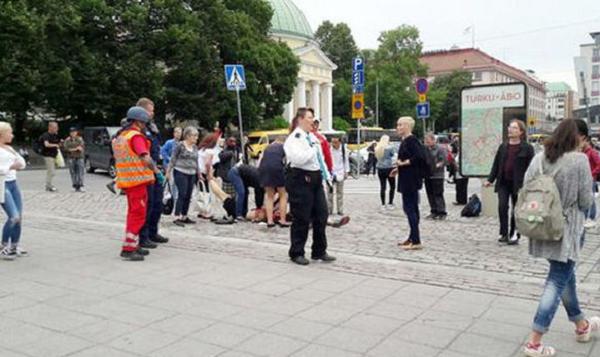 Tấn công bằng dao ở Phần Lan, nhiều người bị thương