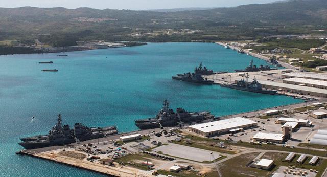 Mỹ đổ tiền xây thêm căn cứ thủy quân lục chiến ở Guam