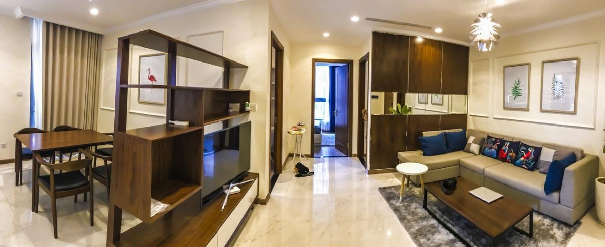 Tận hưởng cuộc sống đẳng cấp trong căn hộ châu Âu giữa lòng Sài Gòn