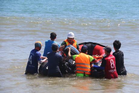 Tìm thấy thi thể Giám đốc Ban Quản lý cảng cá Quảng Ngãi