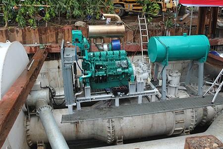 """""""Siêu máy bơm"""" hút cạn nước tại rốn ngập của TP Hồ Chí Minh chỉ sau 15 phút"""