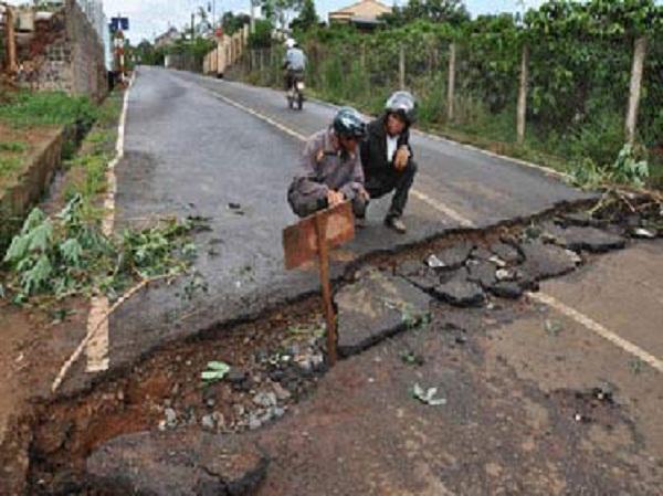 Động đất mạnh ở Điện Biên và Sơn La