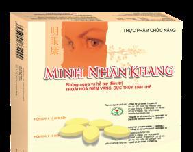 """Minh Nhãn Khang – Bí quyết """"vàng"""" cho đôi mắt luôn sáng khỏe ở người trung và cao tuổi"""