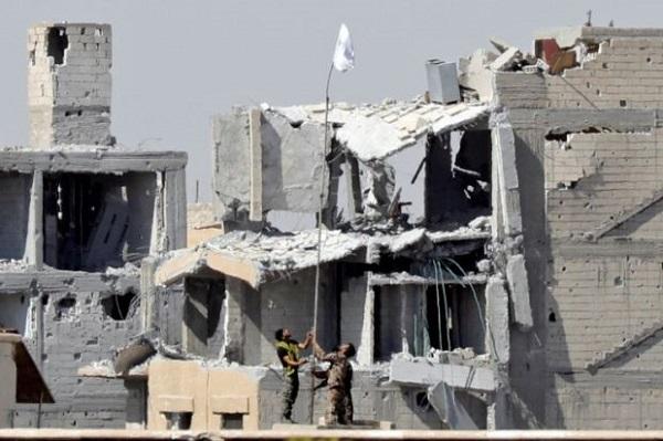 IS bị quét sạch khỏi thủ đô Raqqa, Syria