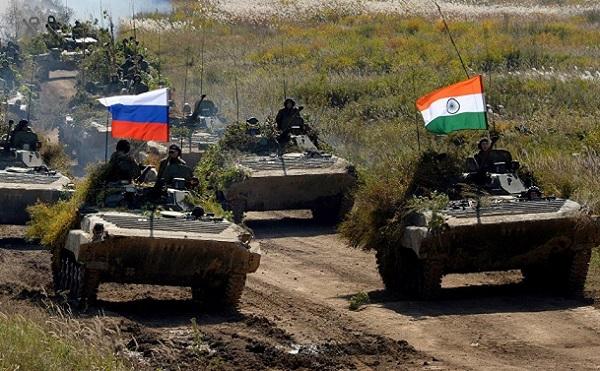 Nga và Ấn Độ tập trận quy mô lớn Indra 2017