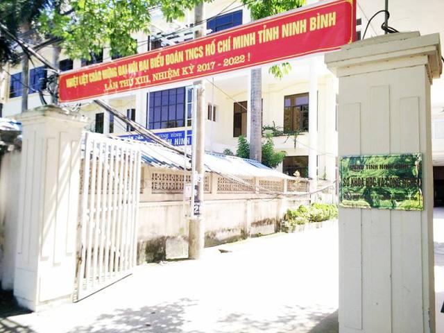 Giám đốc Sở KH-CN Ninh Bình bị kỷ luật cảnh cáo vì hàng loạt sai phạm