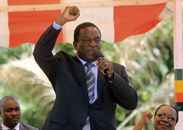"""Người kế nhiệm Tổng thống Zimbabwe """"từng bị đầu độc"""""""