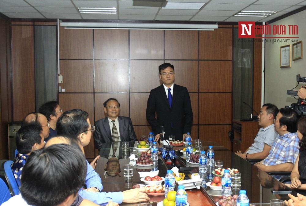 Chính trị - Bộ trưởng bộ Tư pháp thăm tòa soạn báo Đời sống và Pháp luật, báo điện tử Người Đưa Tin (Hình 2).