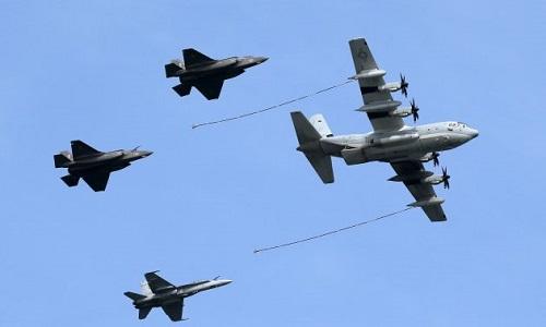 Mỹ muốn tăng số lượng máy bay tiếp dầu để đối phó với Trung Quốc