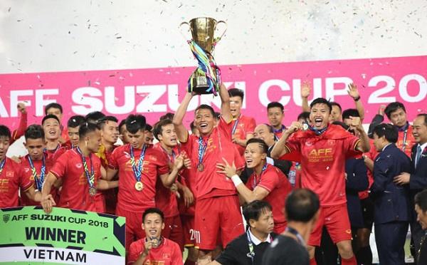 Đội tuyển Việt Nam nhận thưởng AFF Cup như thế nào?