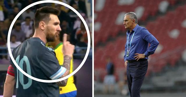 - Messi ra hiệu