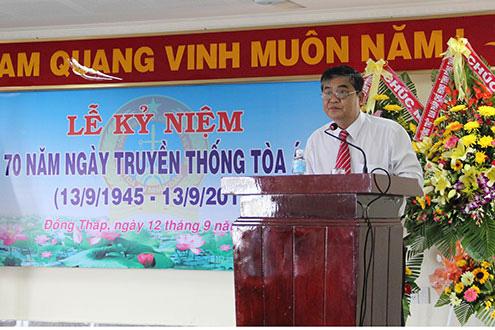 Cách hết các chức vụ trong Đảng của nguyên Chánh án TAND tỉnh Đồng Tháp