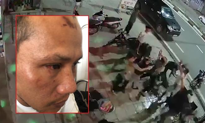 Vụ người đàn ông bị đánh dã man ở quán bia Chill: Camera ghi lại những gì?