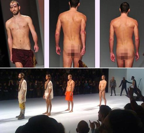 Sự cố bất ngờ trên sàn diễn thời trang (phần 2) - ảnh 1