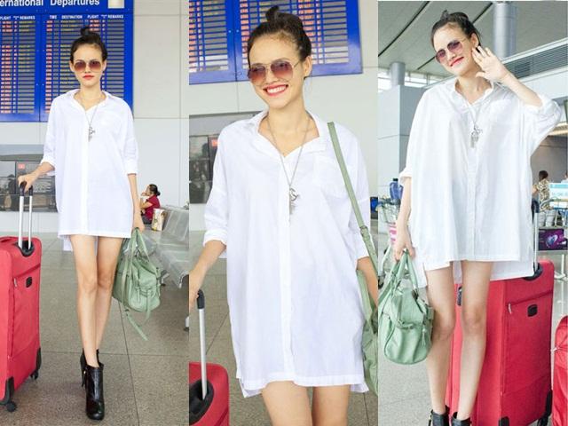 Biến hóa các cách mix đồ cùng áo sơmi trắng - Ảnh 17