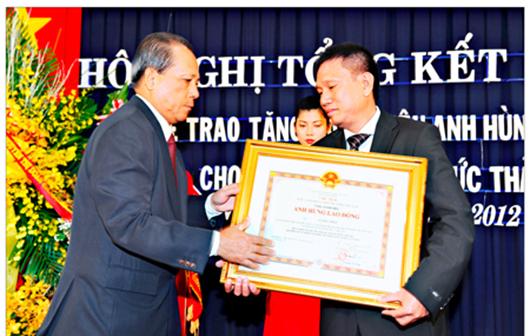 DN đầu tiên của Bà Rịa - Vũng Tàu nhận danh hiệu AHLĐ