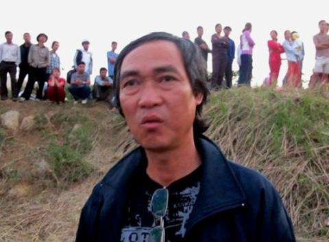 Ông Phạm Đức Quang (cậu ruột của anh Nguyễn Hữu Huy - chồng nạn nhân Lê Thị Thanh Huyền)