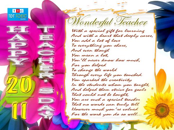 Tuyển tập những lời chúc ý nghĩa nhất nhân ngày nhà giáo