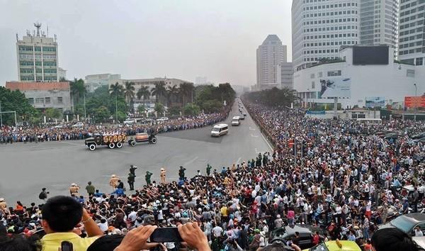 Bức ảnh được chia sẻ nhiều nhất trong 2 ngày Quốc tang Đại tướng Võ Nguyên Giáp 1