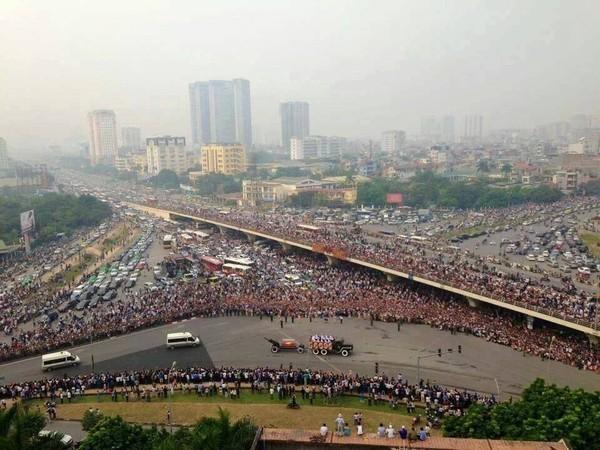 Bức ảnh được chia sẻ nhiều nhất trong 2 ngày Quốc tang Đại tướng Võ Nguyên Giáp 7