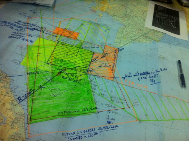 Cập nhật: Vật thể lạ không liên quan đến máy bay mất tích