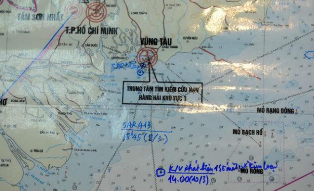 Cập nhật: Phát hiện nhiều mảnh vỡ kim loại cách Vũng Tàu 60km