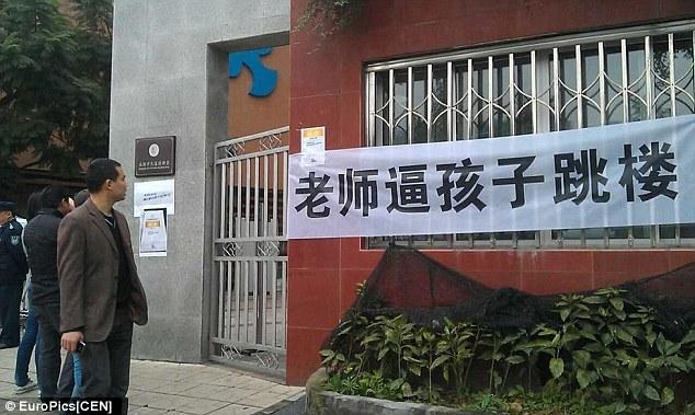 Trung Quốc: Cô giáo bắt học sinh nhảy lầu từ tầng 30 - ảnh 1