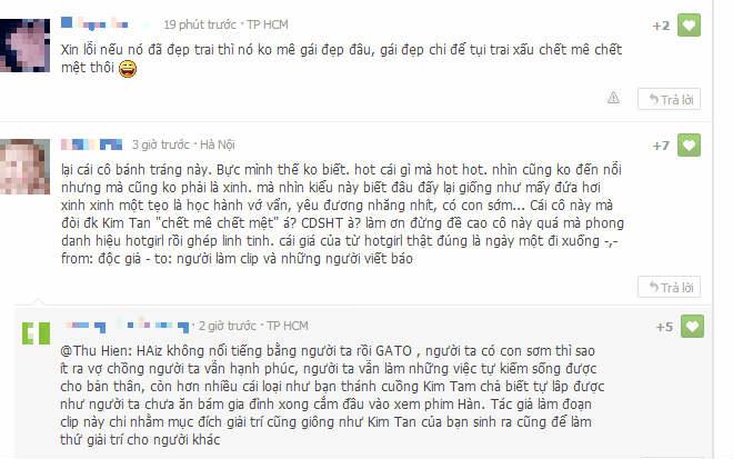 """""""Siêu độc"""" với clip chế """"Kim Tan mê mẩn trước Hotgirl bánh tráng trộn"""