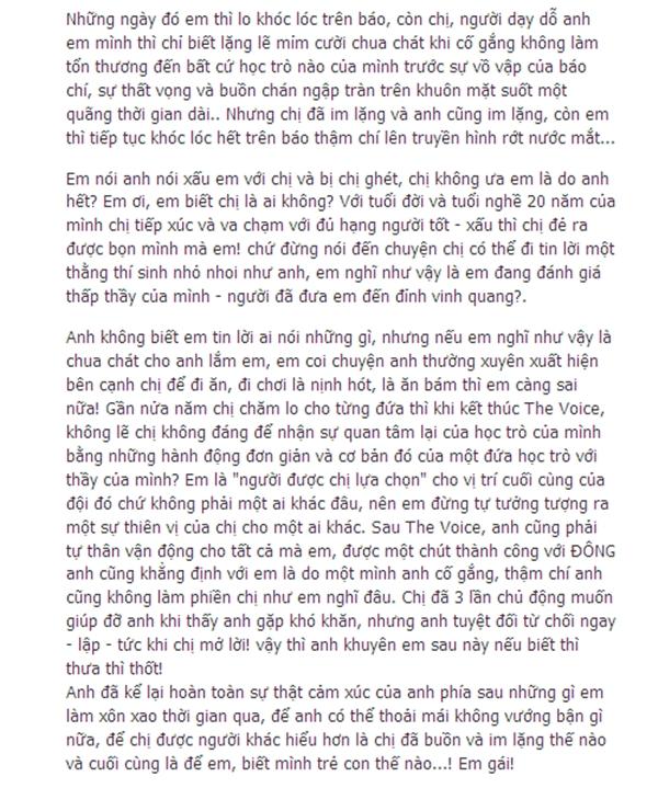 Trúc Nhân bức xúc viết 'tâm thư' gửi Hương Tràm