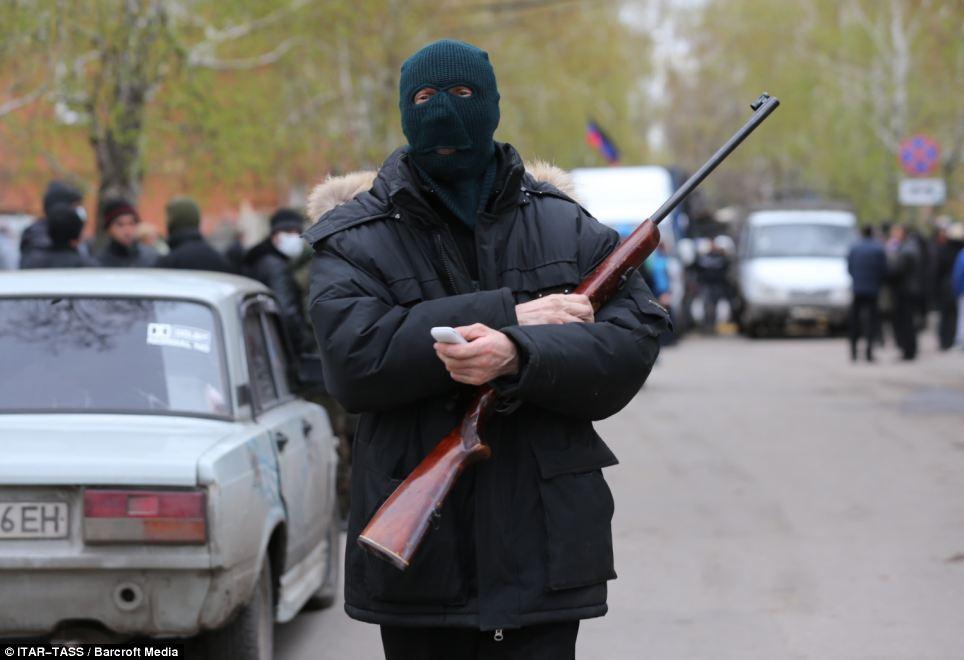 Chùm ảnh giao tranh đẫm máu ở Ukraine
