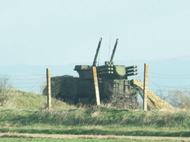 Cận cảnh vũ khí hạng nặng Nga vừa đến Crimea