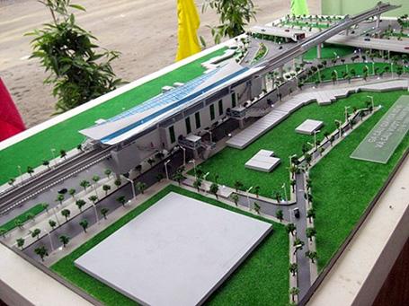 Công bố quy hoạch xây dựng các ga ngầm tuyến đường sắt đô thị 2