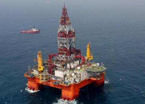 Căng thẳng Biển Đông, Trung Quốc điều thêm 4 giàn khoan
