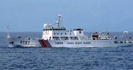 Tàu Trung Quốc chìm gần Senkaku/Điếu Ngư