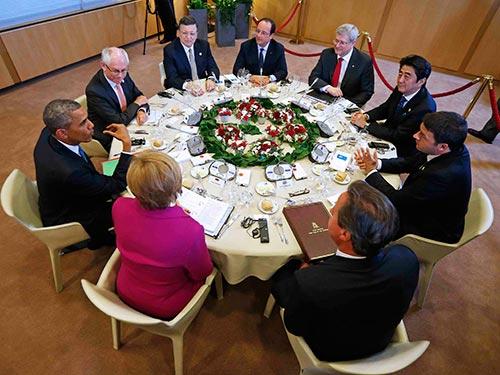 Tình hình Biển Đông: G7 lên án hành vi sử dụng vũ lực