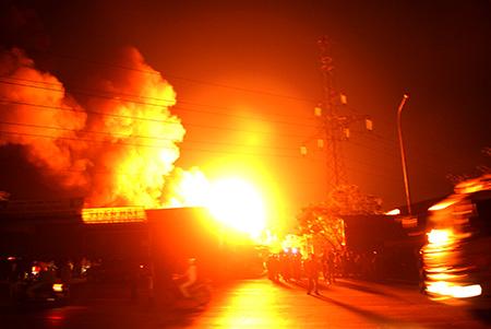 Cần Thơ: Trụ sở công ty kiểm toán cháy lớn