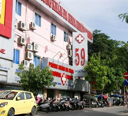 Hình ảnh Phòng khám 59 Khương Trung khắc phục sai phạm vì quyền lợi người bệnh số 1