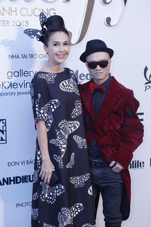 Đoan Trang vác bụng bầu 5 tháng đi xem thời trang-8