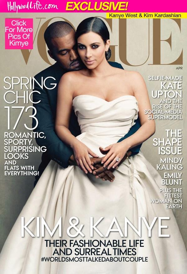 Kim Kardashian lần đầu xuất hiện trên tạp chí Vogue