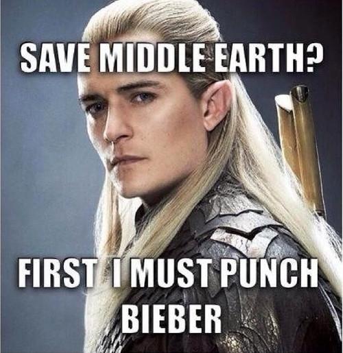 Loạt hình hài hước chế giễu Justin Bieber và Orlando Bloom