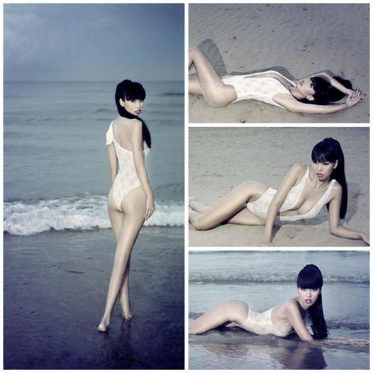 Elly Trần, Hà Anh khoe đường cong trùng trùng điệp điệp