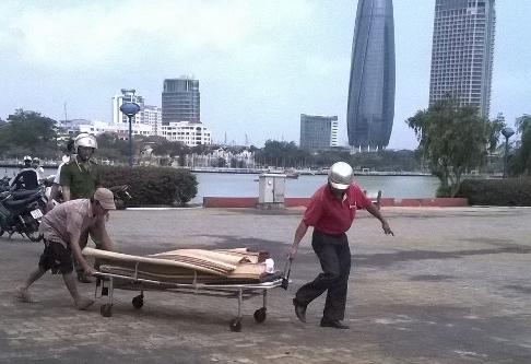 Phát hiện xác cô gái trẻ nổi trên sông Hàn